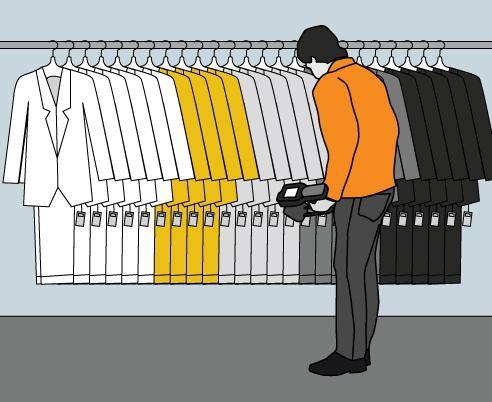 L какой размер мужской одежды