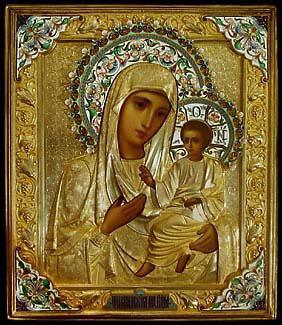 икона молящейся богородицы