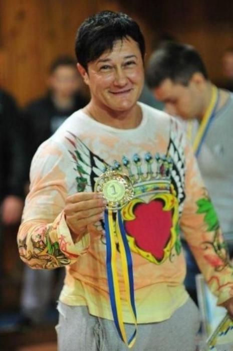 Анна Куркурина - самая сильная женщина Украины
