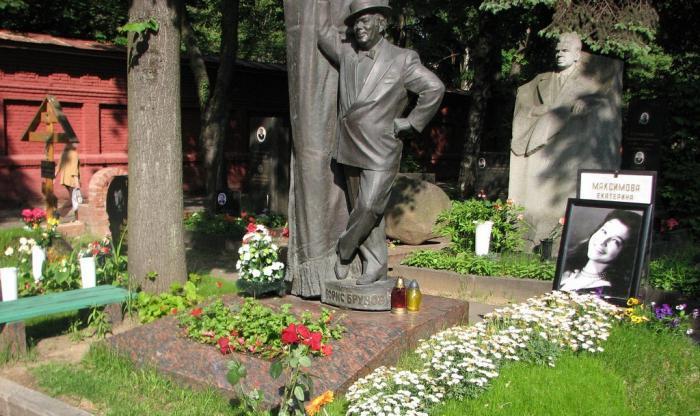 могила михалкова на новодевичьем кладбище