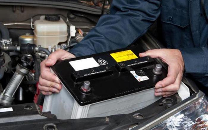 полярность аккумулятора по марке автомобиля