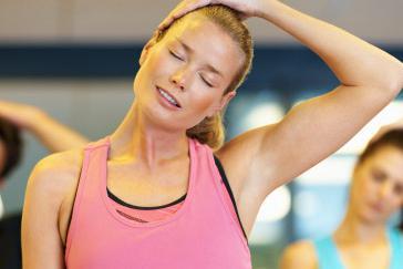 остеохондроз шейного отдела упражнения дома