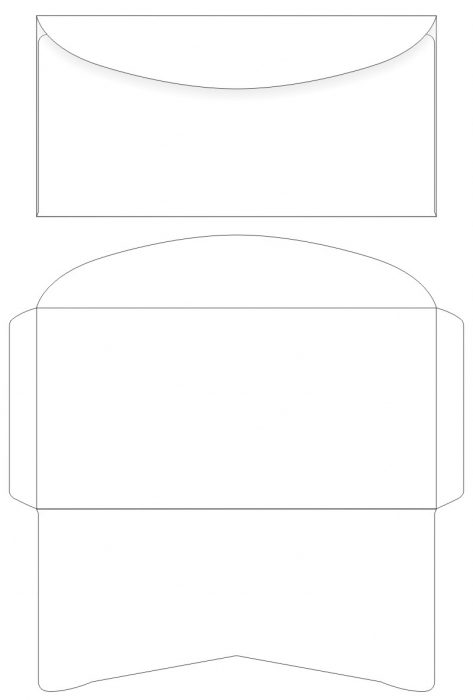 Шаблон конверта распечатать