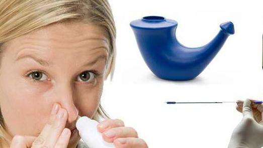 лекарство от ринита и синусита