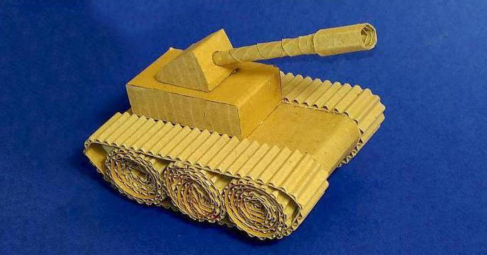 макет военной техники своими руками