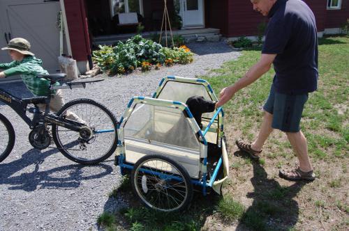 прицеп коляска для велосипеда