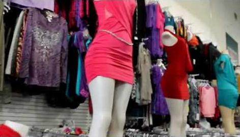 Дешевый рынок одежды