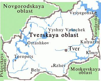 Где находится селигер на карте россии 43
