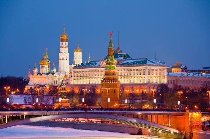 Посещение кремля