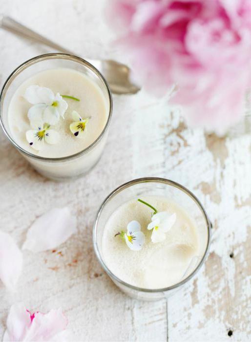 молочное желе рецепт с желатином и сметаной