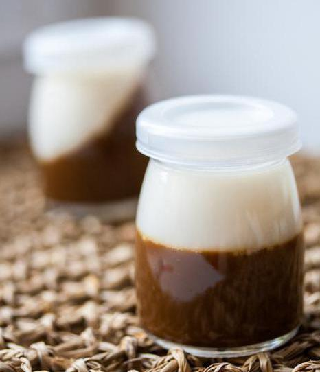 молочное желе рецепт с желатином на сметане