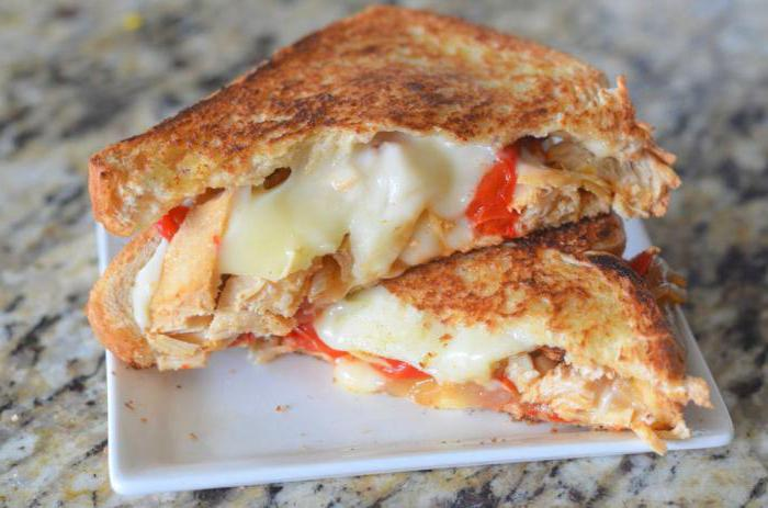сэндвич с курицей рецепт с фото