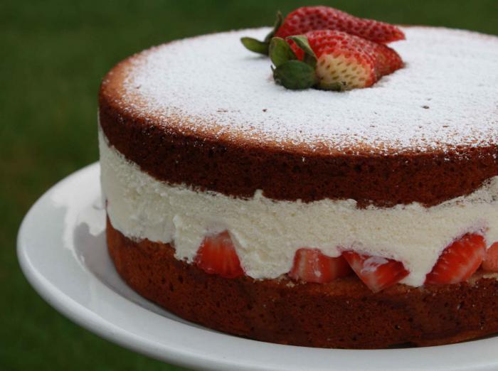 Легкий вкусный торт в домашних условиях