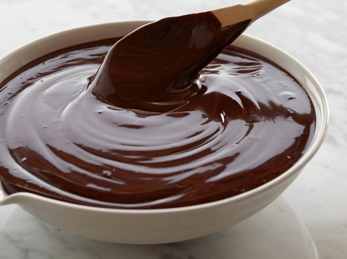 Шоколадной глазури с фото
