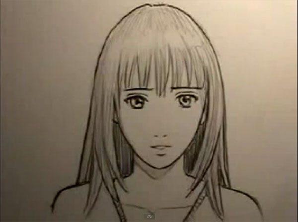 как нарисовать лица аниме