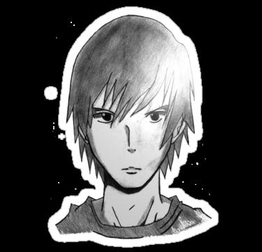 лицо аниме парня