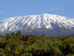 Килиманджаро высочайшая гора в Африке