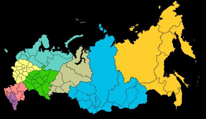 Приволжский федеральный округ: состав, регионы, области