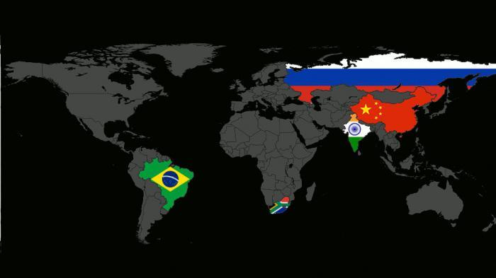 Страны БРИКС