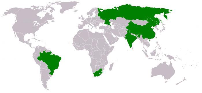 БРИКС расшифровка какие страны входят