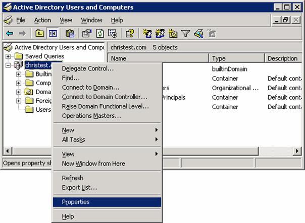 Настройка групповых политик Active Directory