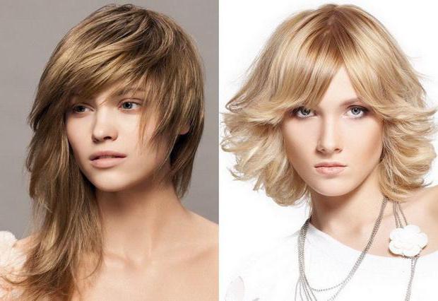 причёски на тонкие волосы средней длины