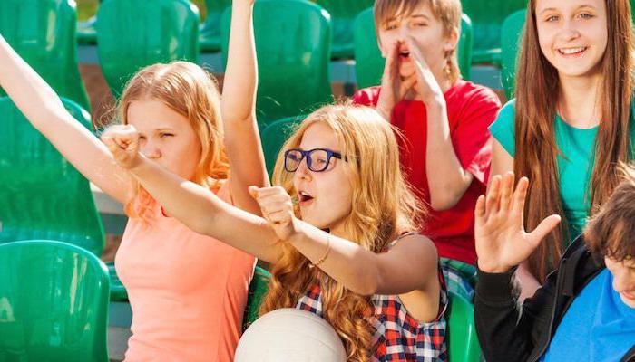 кричалки группы поддержки на спортивных соревнованиях