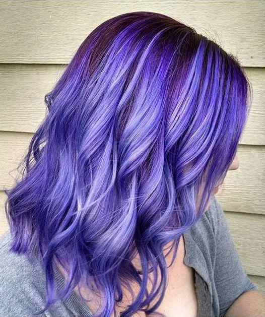 краска для волос фиолетовый блондин