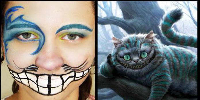 макияж чеширского кота