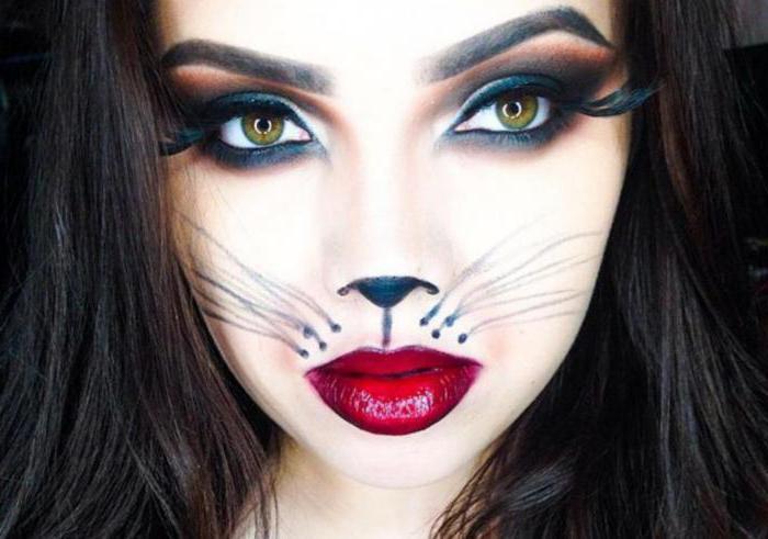 макияж чеширского кота своими руками