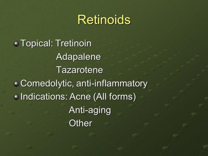 ретиноиды от прыщей препараты