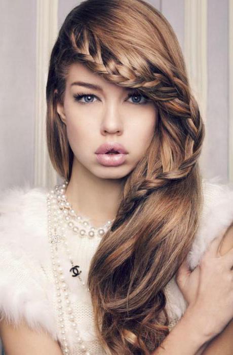 длинные тонкие волосы фото