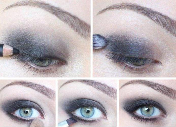макияж для серых глаз с пошаговым описанием