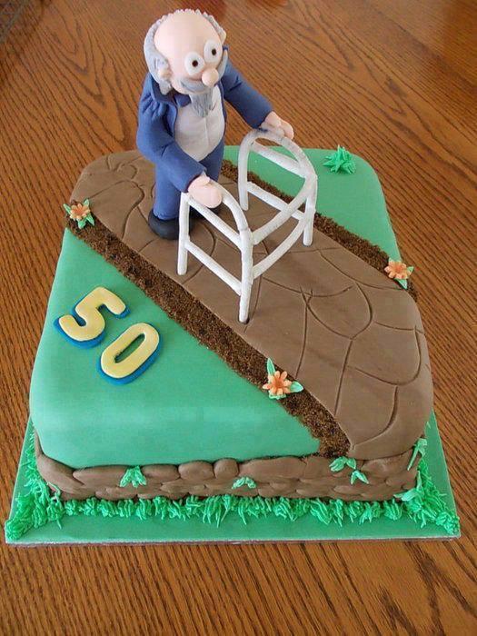 как украсить торт мужчине на 50 лет