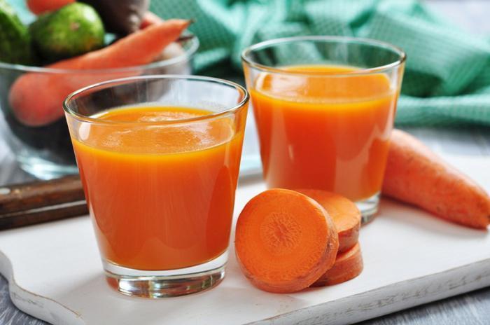 Морковный сок при циррозе печени