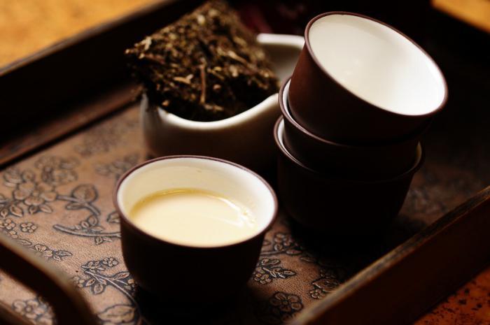 чай калмыцкий с молоком
