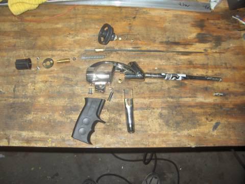 Как правильно пользоваться пенным пистолетом