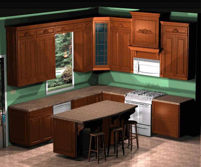 Дизайн отделки кухни своими руками фото 107