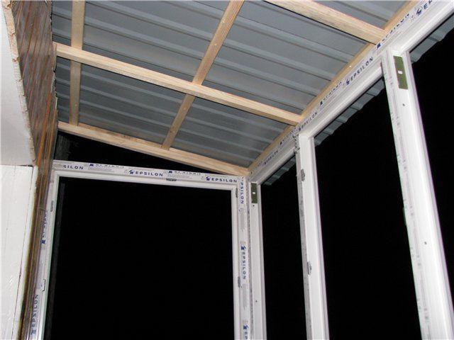 Как обшить балкон