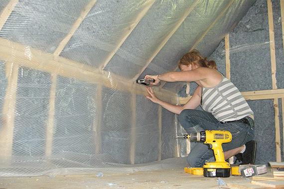 hvordan monteres dampspærre