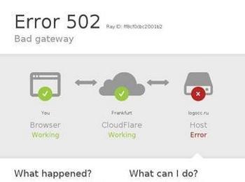 502 bad gateway что это