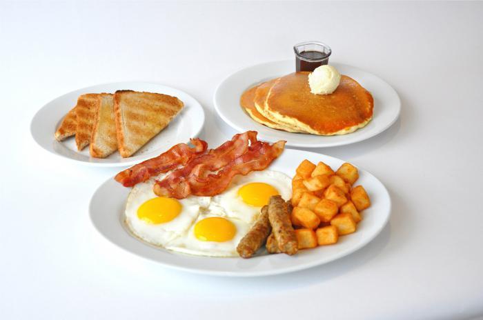 полезный завтрак обед и ужин для похудения