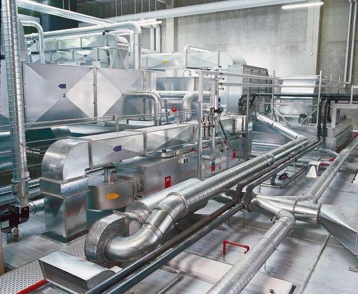 проектирование вентиляции производственных помещений