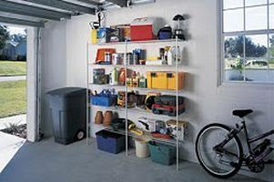 обустройство гаража своими руками как сделать полки