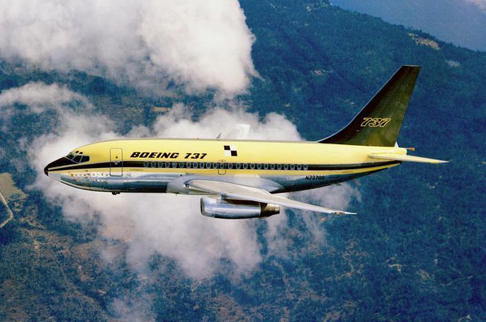 boeing 737-500 салон