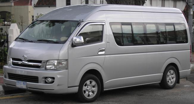 Полноприводные микроавтобусы