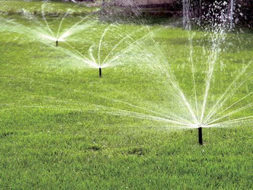 распылитель для полива газона