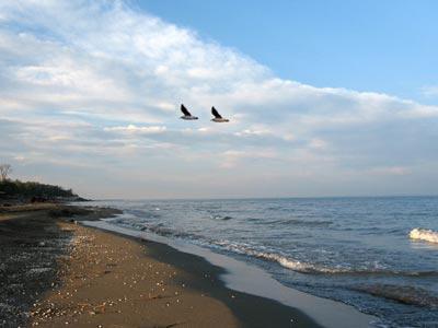 Географическое положение Каспийского озера