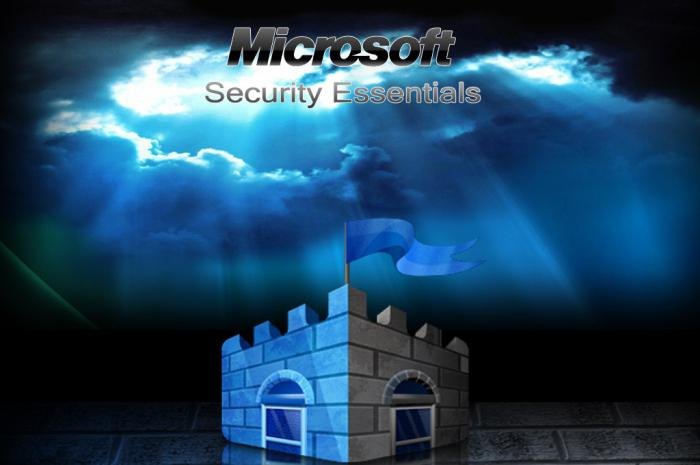 как отключить антивирусник microsoft security essentials