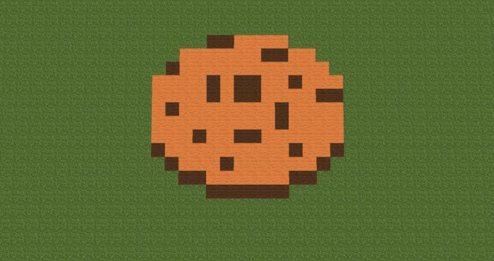 Майнкрафт как сделать печенья
